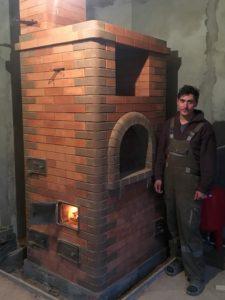 печник печь с водяным отоплением
